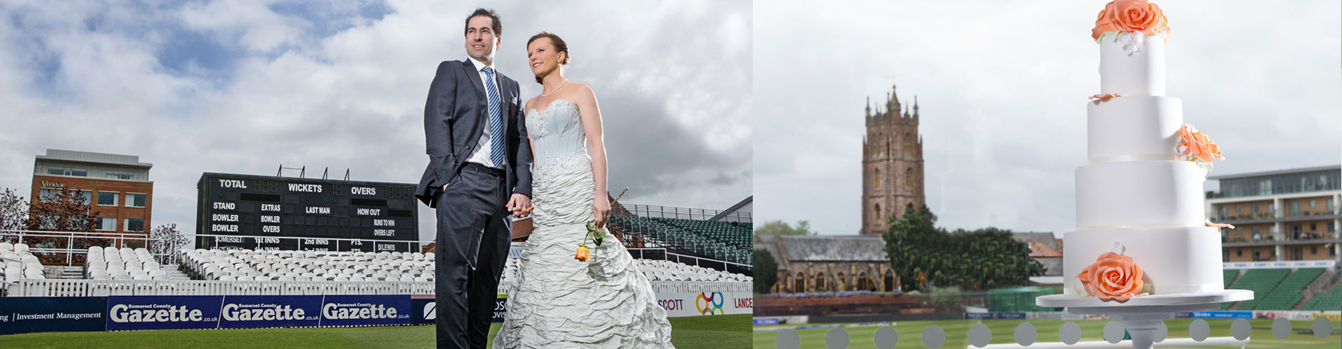 Wedding venue facilities at the county ground