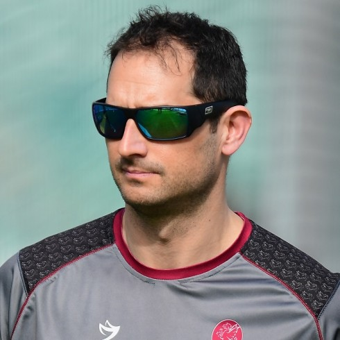during Somerset Training at The Cooper Associates County Ground  on March 7, 2018 in Taunton, England. (Photo by Alex Davidson)